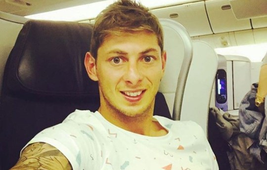 Missing footballer Emiliano Sala. Missing footballer Emiliano Sala?s sister broke down in tears yesterday as she begged rescuers: ?Please don?t give up searching for my brother ? I know he is still alive.? Romina Sala?s plea came after the search for Cardiff City?s ?15million Argentine signing, 28, and pilot David Ibbotson, 60, who went missing on a flight over the English Channel on Monday, was called off. Guernsey?s harbour master Cpt David Barker said the chances the pair had survived were ?extremely remote? and the ?difficult decision? to end the search had been taken. (Picture: Emiliano Sala/Instagram)