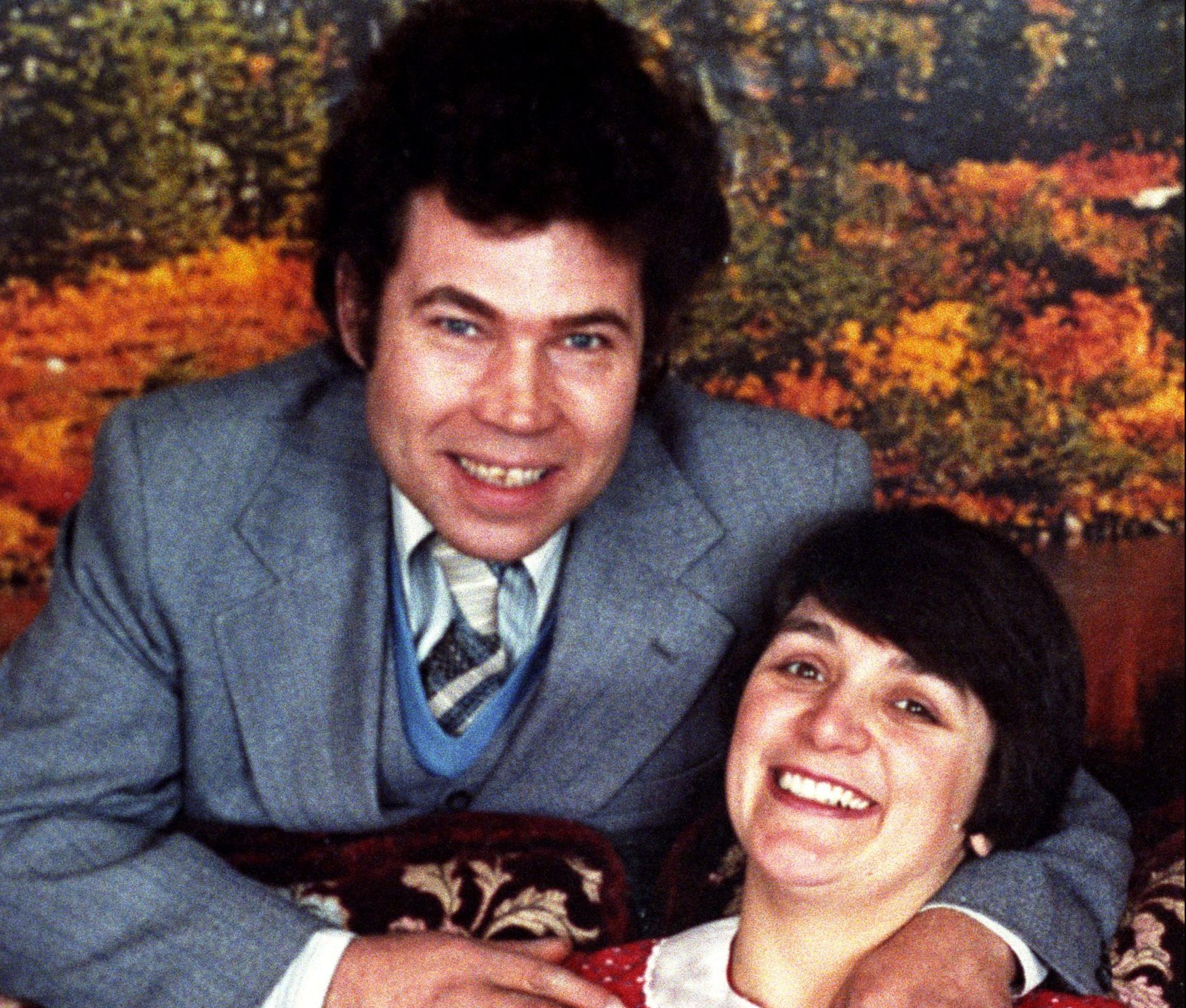 HANDOUT - Serial killers Fred and Rosemary West.