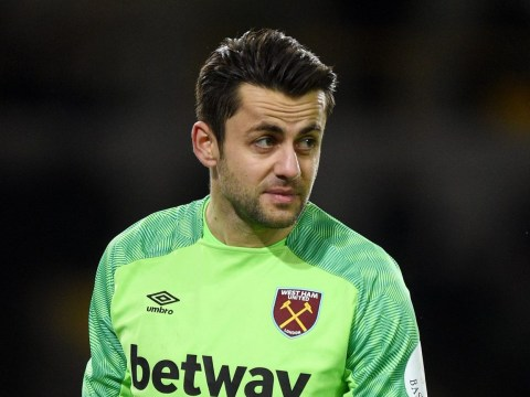 Lukasz Fabianski expected to start for West Ham's clash with Liverpool after arm injury