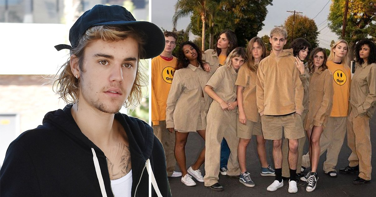Justin Bieber launches totally beige clothing line splash/drew house