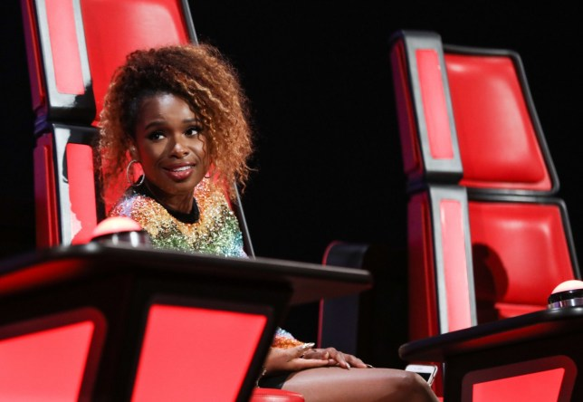 STRICT EMBARGO - NO USE BEFORE 22:30GMT 01 FEB 2019 - Editorial use only Mandatory Credit: Photo by Rachel Joseph/ITV/REX (10080527e) Jennifer Hudson. 'The Voice UK' TV Show, Series 3, Episode 5, UK - 02 Feb 2019