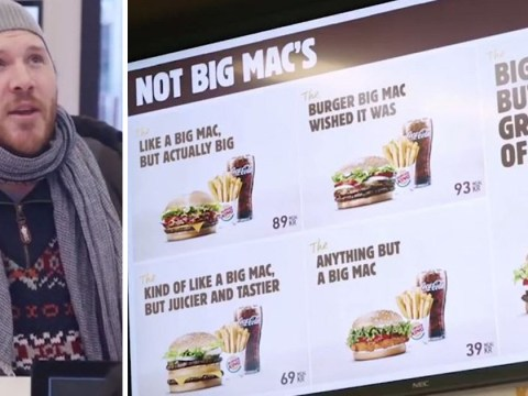 Burger King really wants you to eat 'Anything But a Big Mac'