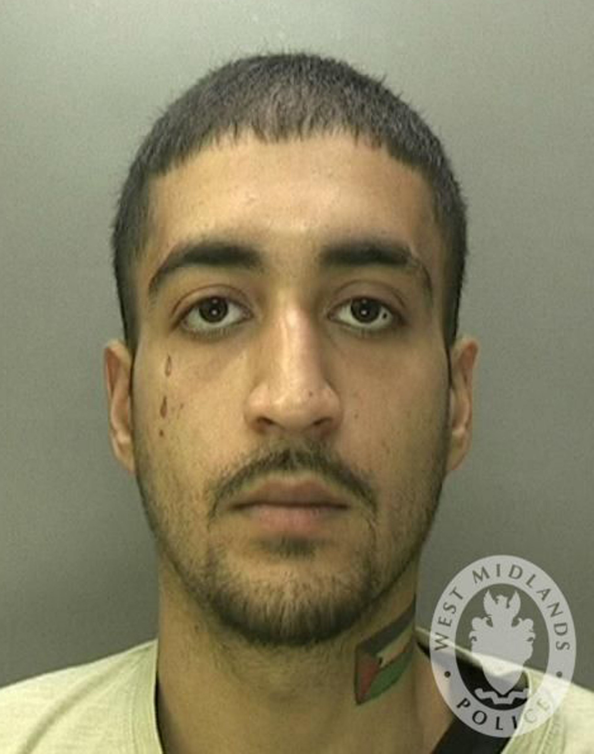 """Undated handout photo issued by West Midlands Police of Kasim Khuram, of Kenilworth Road, Aston, Birmingham, who has been jailed for six years for the """"despicable"""" crime of breaking into a funeral parlour and having sex with a corpse. PRESS ASSOCIATION Photo. Issue date: Friday February 1, 2019. The court heard during a break in, Khuram had carried out a ?gratuitous? crime by disturbing three bodies and a total of nine coffins. See PA story COURTS Body. Photo credit should read: West Midlands Police/PA Wire NOTE TO EDITORS: This handout photo may only be used in for editorial reporting purposes for the contemporaneous illustration of events, things or the people in the image or facts mentioned in the caption. Reuse of the picture may require further permission from the copyright holder. BUL1413"""