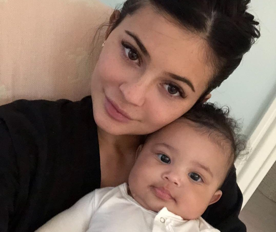 Kylie Jenner reveals Stormi was nearly named 'Rose' but daughter 'came up with own name'