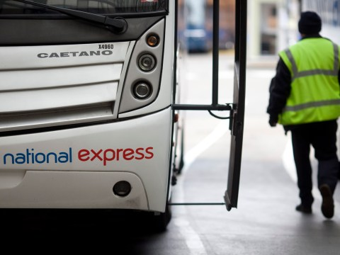 Pair arrested for 'having sex in front of passengers' on National Express coach