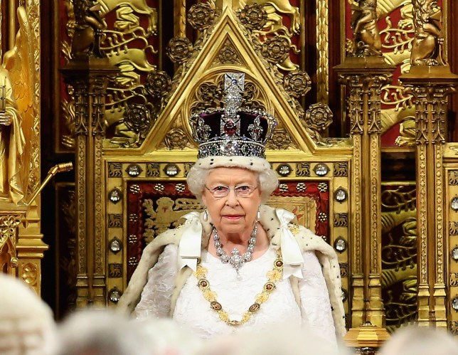 What time is the Queen's speech today and who writes it?