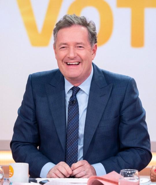Editorial use only Mandatory Credit: Photo by Ken McKay/ITV/REX/Shutterstock (10070309dd) Piers Morgan 'Good Morning Britain' TV show, London, UK - 22 Jan 2019