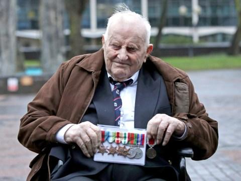 Blind veteran, 97, begs to be allowed to die at home