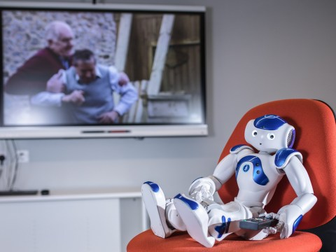 Robot forced to watch Friends and Emmerdale in bid to beat dementia