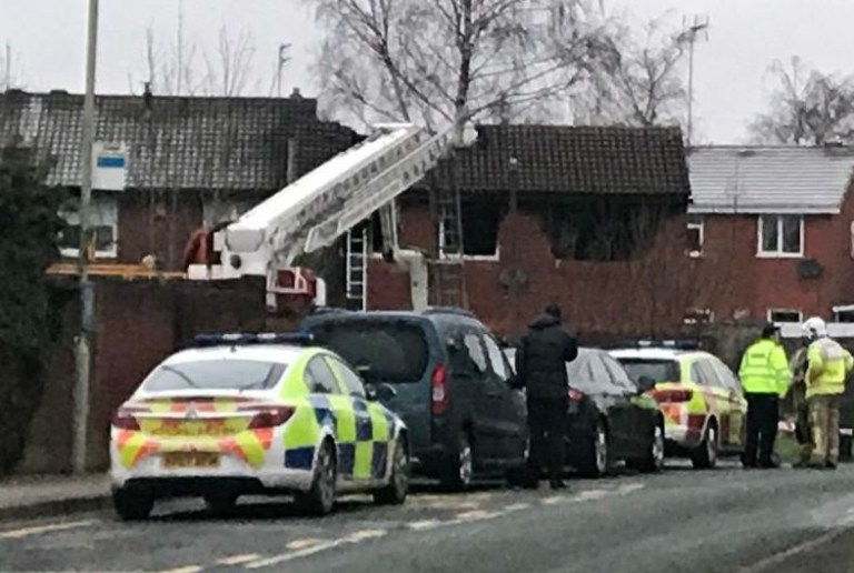 TAKEN WITHOUT PERMISSION https://twitter.com/BBCRadioStoke/status/1092690849937403910 At 2:40am this morning (Feb 5) police officers and colleagues from the fire and ambulance services attended a serious house fire in the Highfields area of Stafford. A search at the property in Sycamore Lane is ongoing, but it is with great sadness we can confirm the deaths of four children at the property.