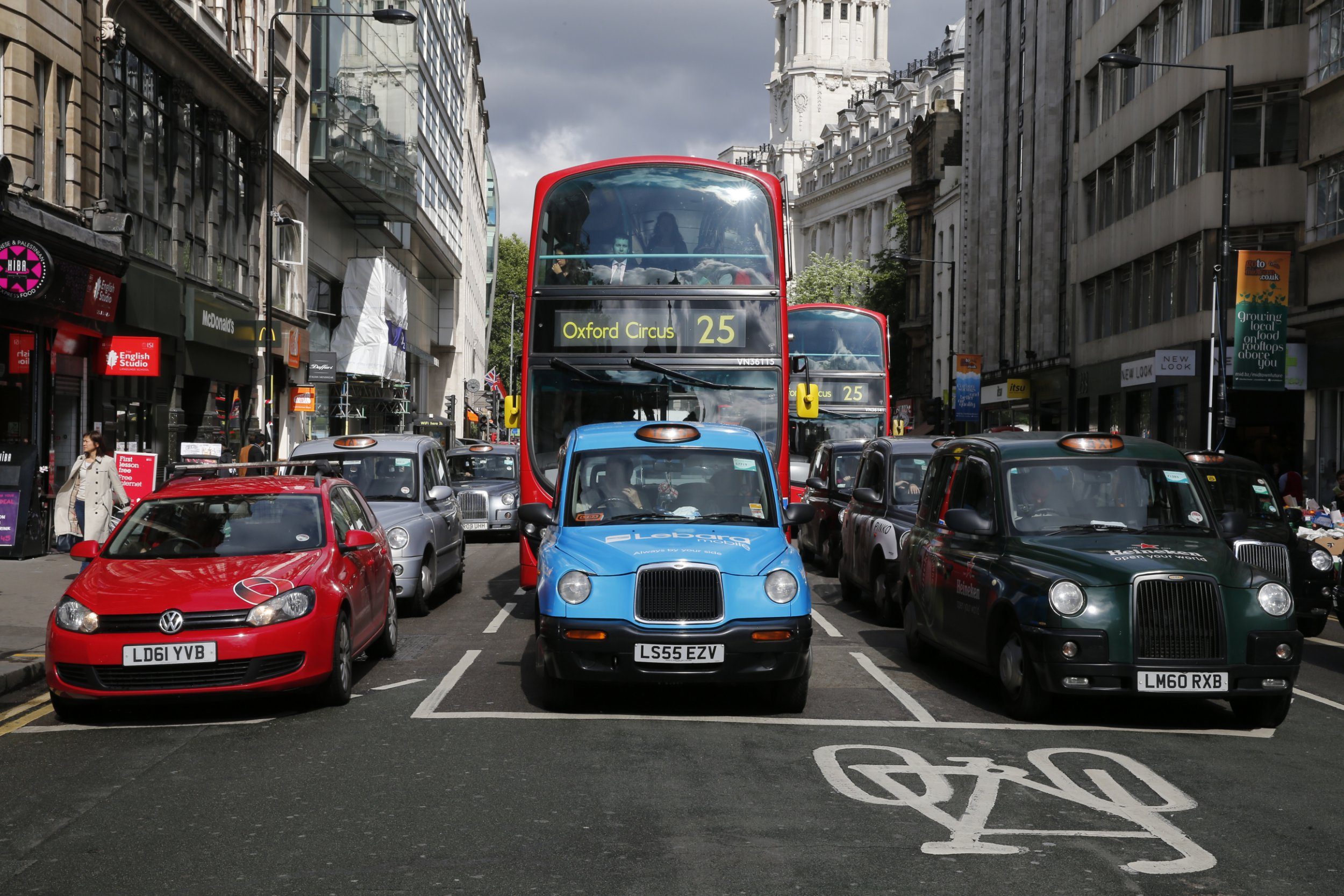Campaigners call for free bus travel to help tackle pollution