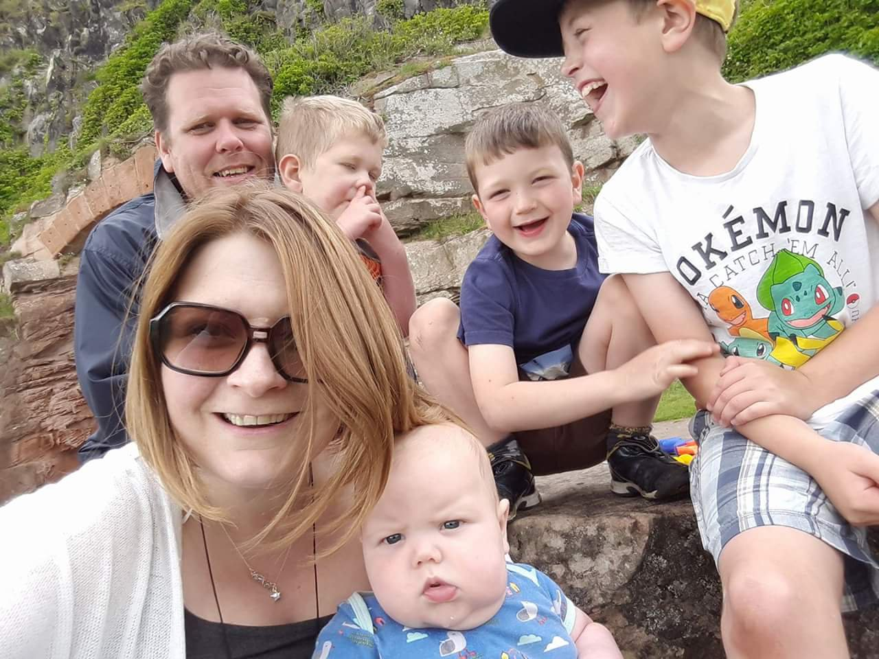 Mum who quit high-flying job to look after disabled son Credit: Rae Vacher Lowe
