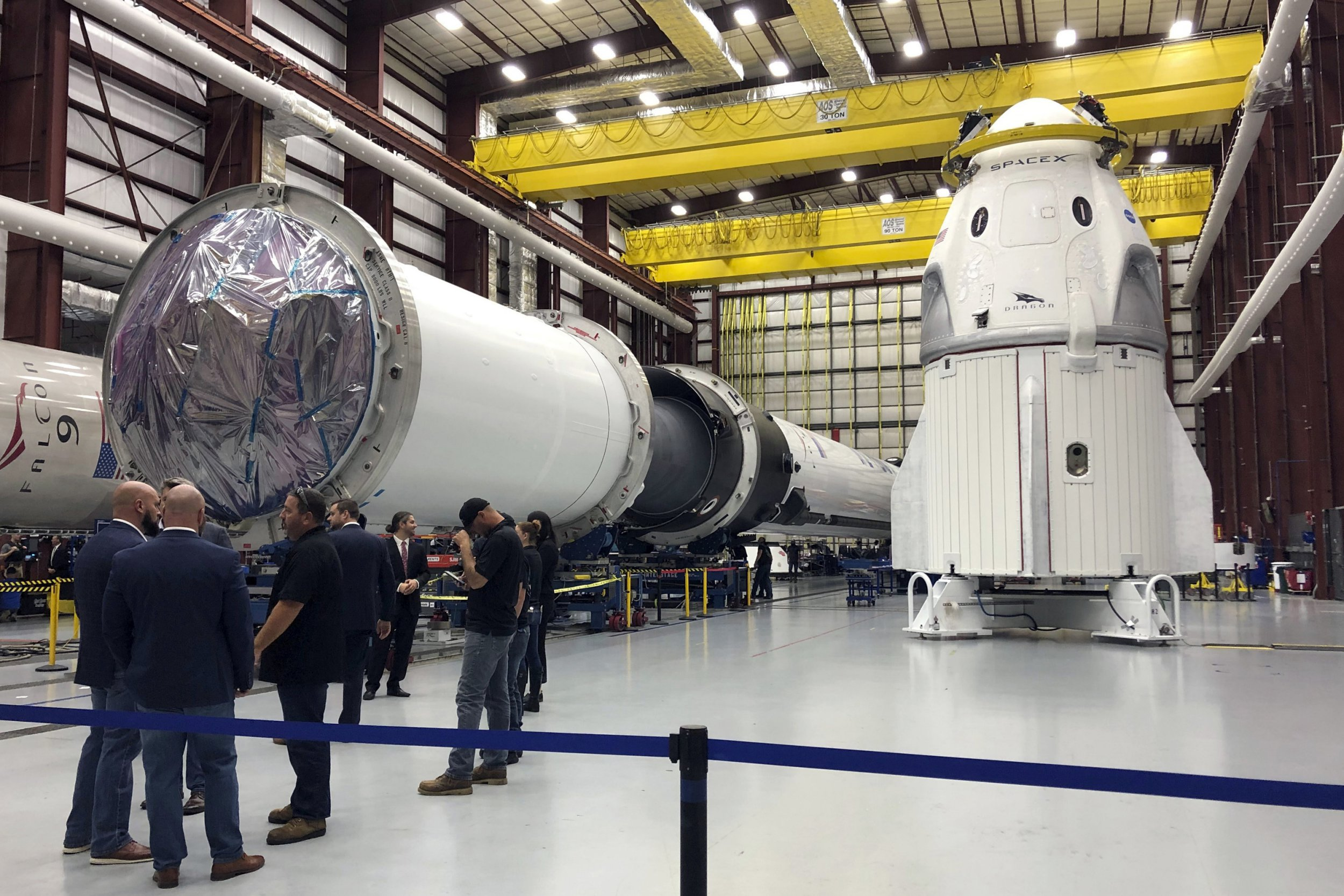 SpaceX capsule suffers 'anomaly' as smoke is spotted from Florida test site