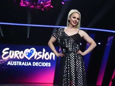 Courtney Act is gunning for Eurovision glory as Australia prepare to choose 2019 entry