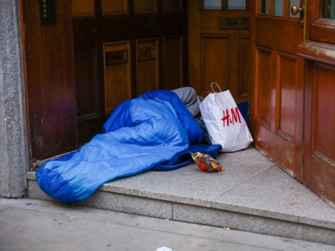 Homeless 'sharing their sleeping bags with rats' in effort to stay warm