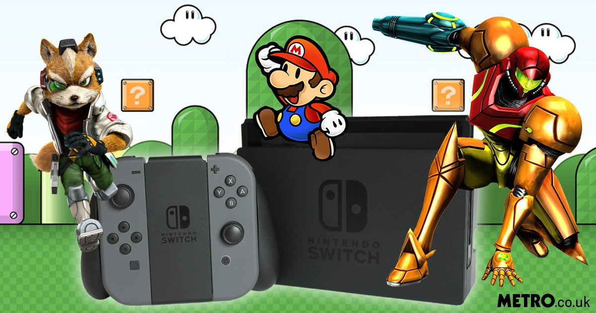 Paper Mario to Star Fox: What could the unannounced Nintendo Switch game be?