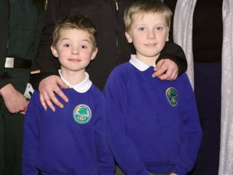 Young brothers write thank you note to ambulance service who saved their dad