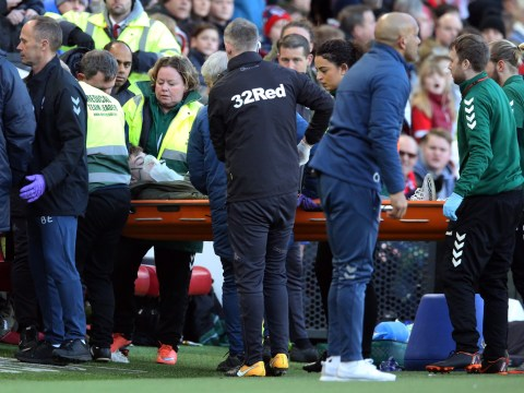 Leeds United youngster Jack Clarke taken to hospital after collapsing during clash with Middlesbrough