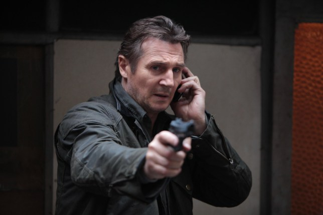 Editorial use only. No book cover usage. Mandatory Credit: Photo by Europa Corp/Kobal/REX/Shutterstock (5885031aj) Liam Neeson Taken 2 - 2012 Director: Olivier Megaton Europa Corp USA Scene Still