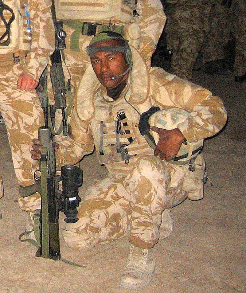 Lance Corporal Inoke Momonakaya (Picture: Warren Smith)