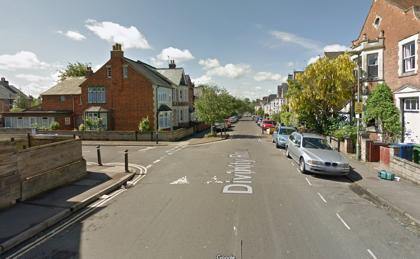 Man climbed through open window and sexually assaulted girl as she slept Police were called to the property in Divinity Road, Oxford, after the alarm was raised and an immediate search of the neighbourhood was carried out but no sign of the attacker was found. Provider: Google Map Source: https://www.google.com/maps/@51.7478,-1.2291604,3a,75y,213.24h,88.12t/data=!3m6!1e1!3m4!1sMqJbqVykSbpVC5_2DtQ8Ew!2e0!7i13312!8i6656