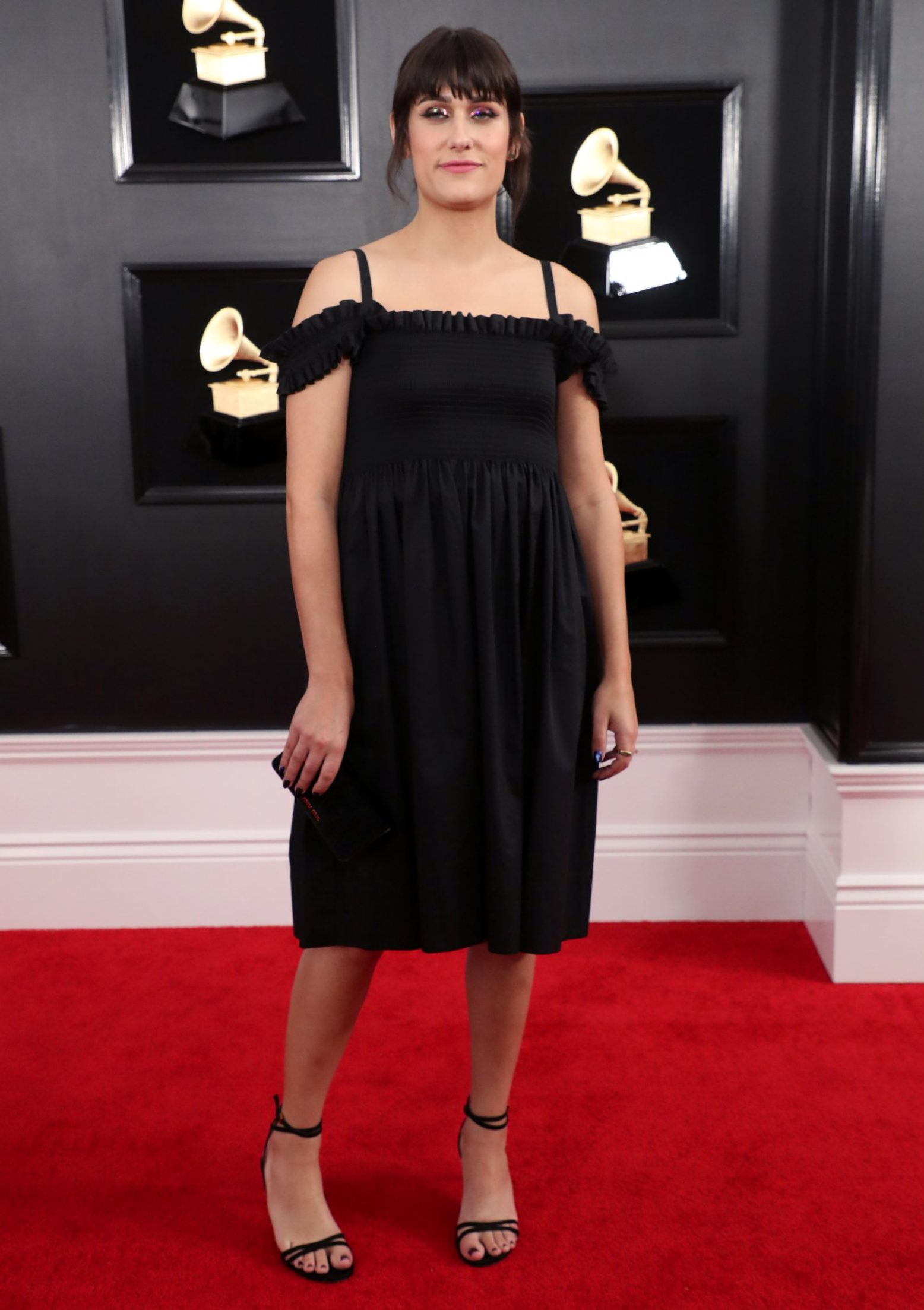 Mandatory Credit: Photo by Chelsea Lauren/REX (10095020yy) Teddy Geiger 61st Annual Grammy Awards, Arrivals, Los Angeles, USA - 10 Feb 2019