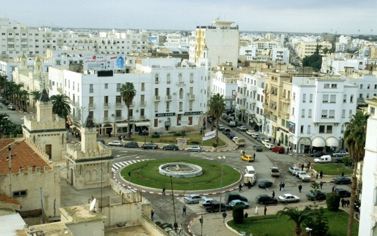 Mandatory Credit: Photo by Veronica Garbutt/REX/Shutterstock (792484e) Sfax city skyline, Tunisia Tunisia - 2008