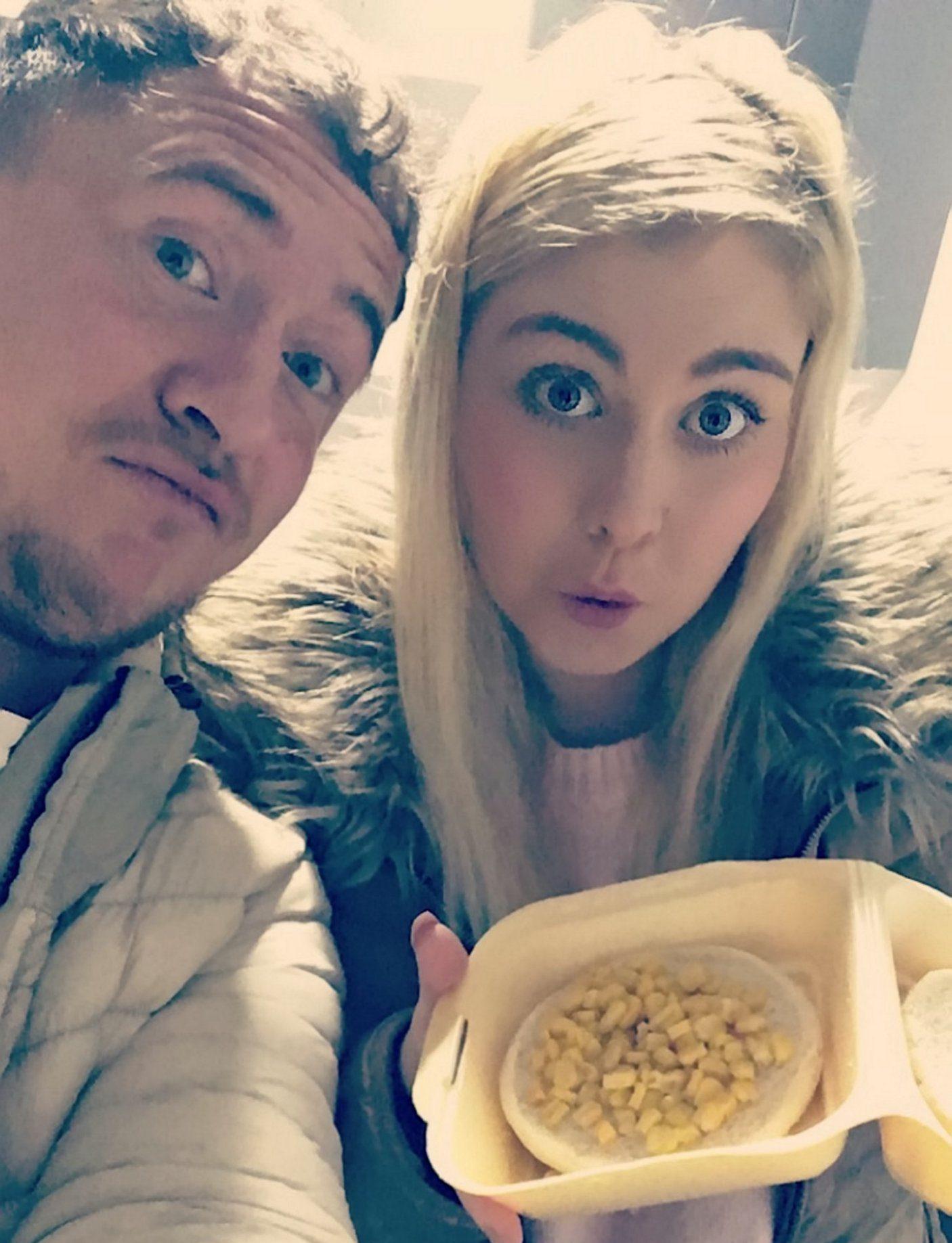 Couple ordered corn on the cob got corn on a cob