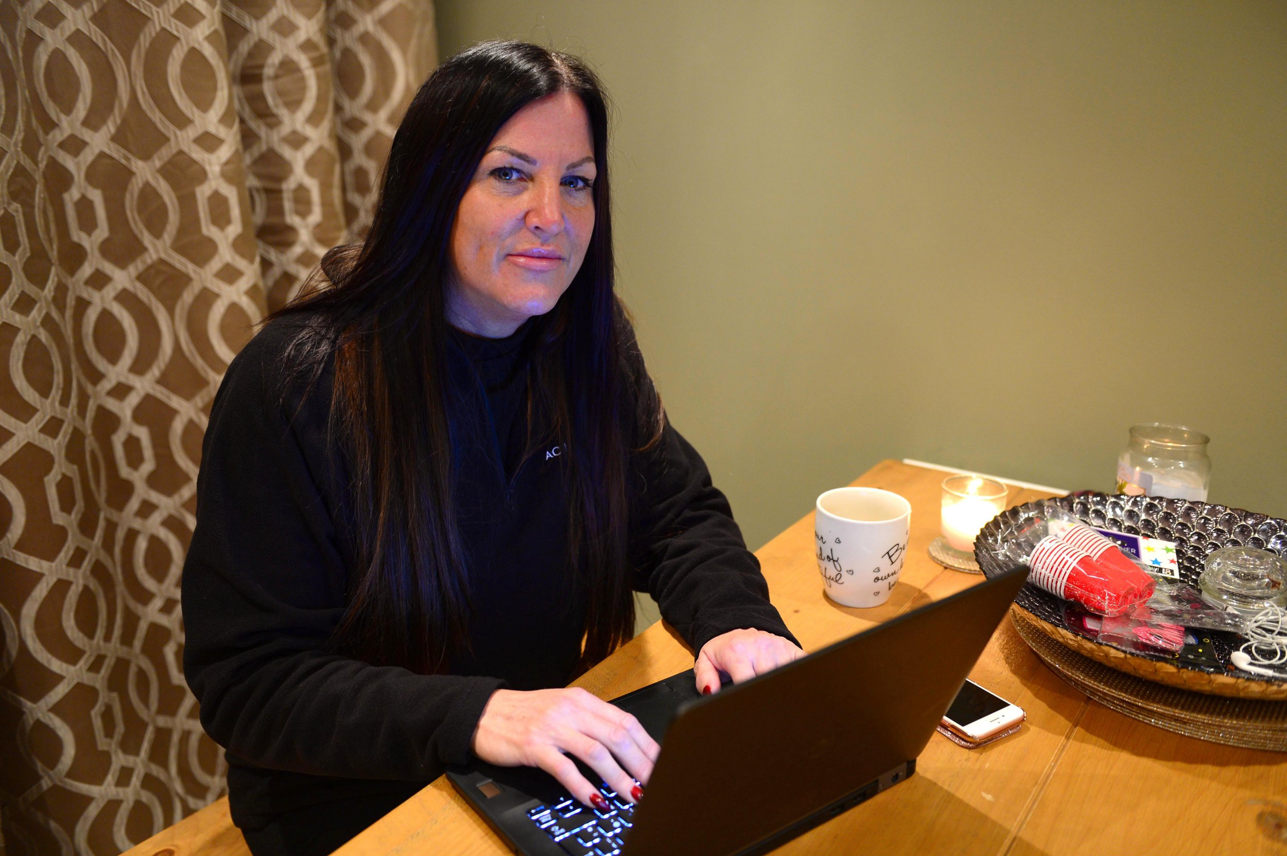 A woman has issued a warning after her friends were conned out of hundreds of pounds by hackers who took over her Facebook account for two days. Vanessa Storey said fraudsters message more than 200 people on her friends list after gaining access to her account last weekend. Caption: Vanessa Storey from Grimsby, Linconlshire, who was targeted by Facebook hackers