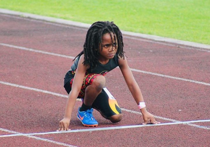 Fastest boy in the world Rudolph Blaze Ingram can already ...