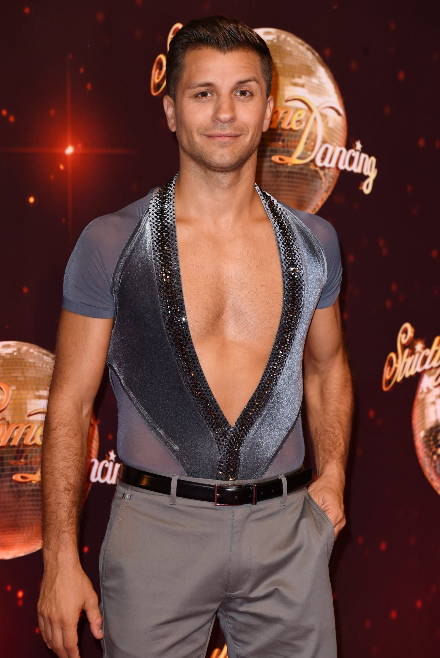 Mandatory Credit: Photo by David Fisher/REX/Shutterstock (5848946fk) Pasha Kovalev 'Strictly Come Dancing' launch, Elstree Studios, Hertfordshire, UK - 30 Aug 2016