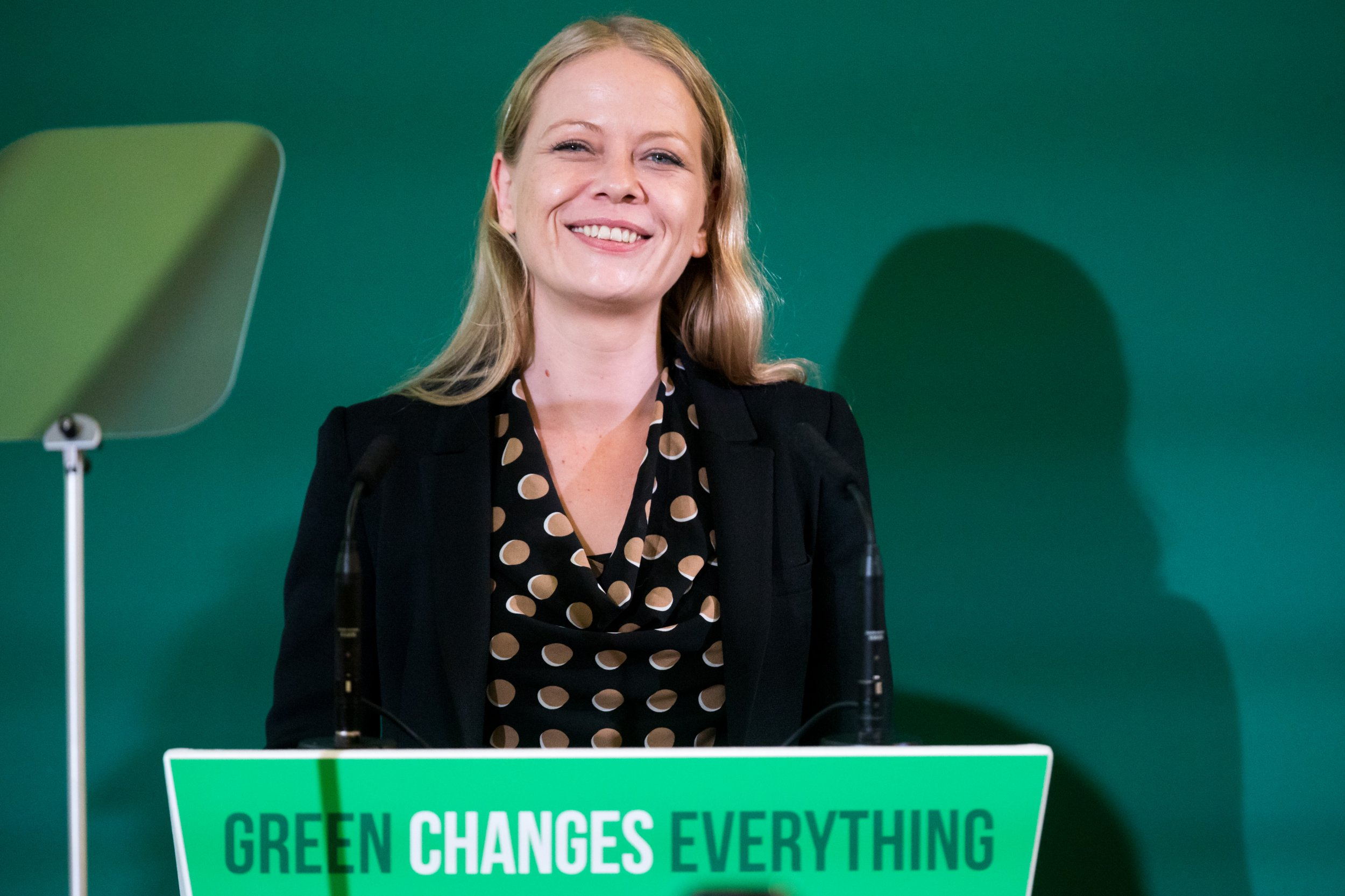 Co-leader of the Green Party, Sian Berry