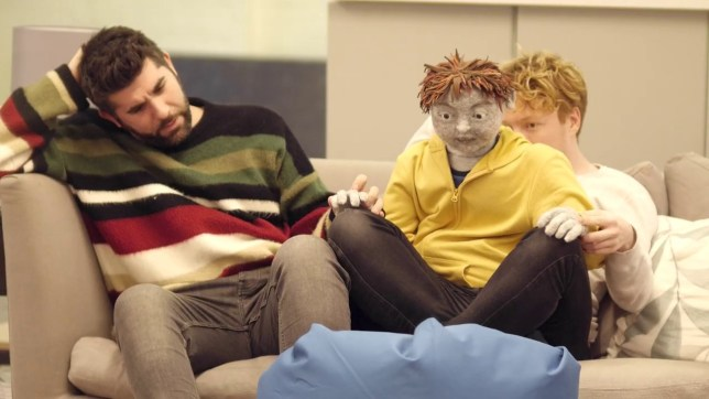 All in a Row, a play about autism at the Southwark Playhouse, uses a puppet