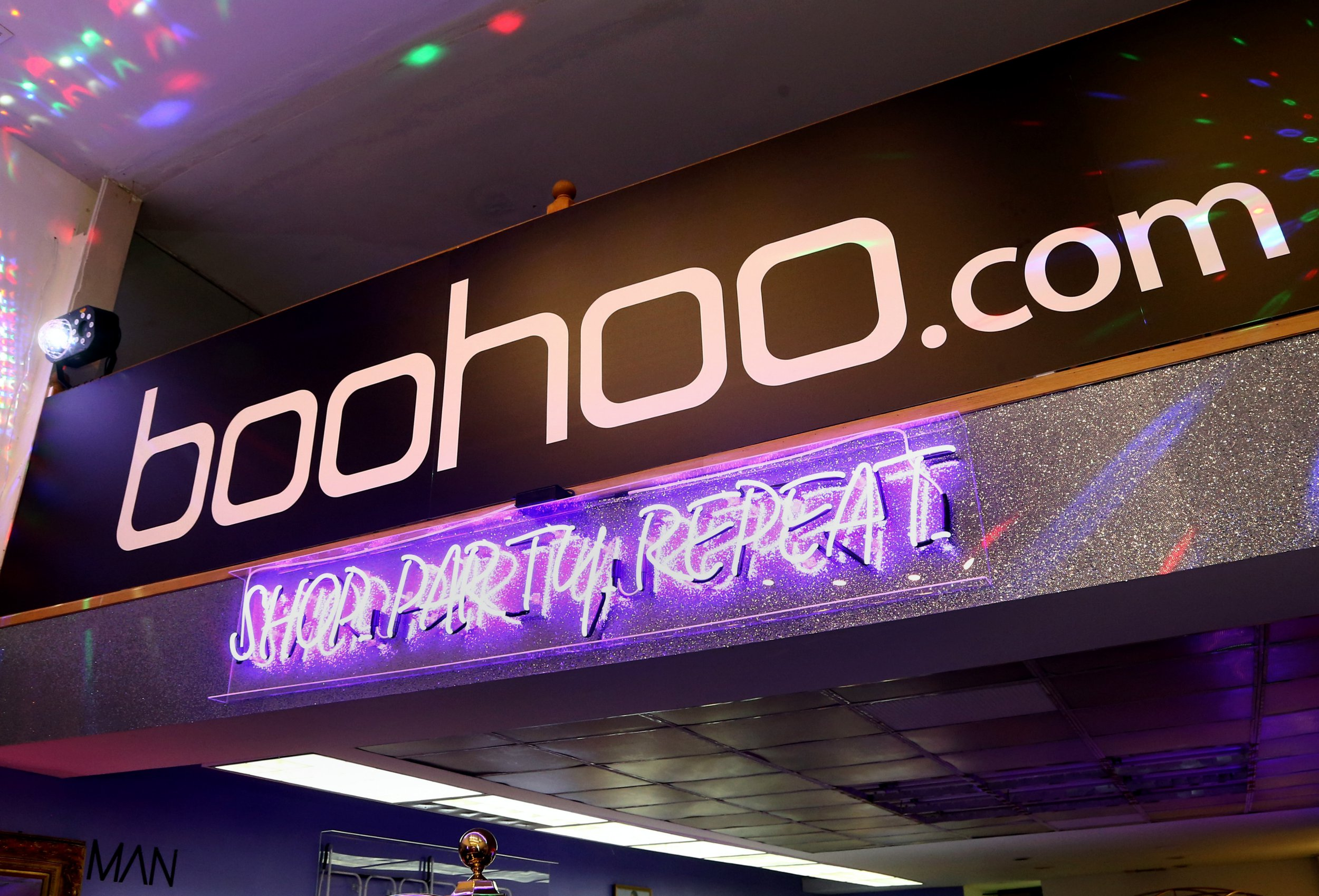 LOS ANGELES, CA - NOVEMBER 01: A view of the store at the boohoo.com LA Pop-up Store Launch Party with Galore Magazine on November 1, 2017 in Los Angeles, California. (Photo by Tommaso Boddi/Getty Images for boohoo.com)
