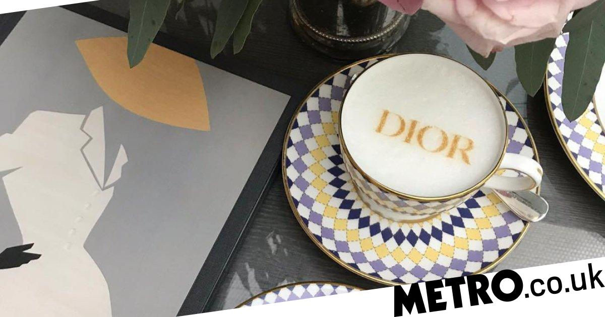 Dior Themed Afternoon Tea Launches In Time For London