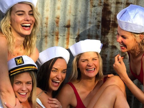 Margot Robbie transforms into a sailor for best friend's bachelorette party in Byron Bay