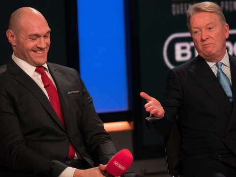 Frank Warren takes swipe at Anthony Joshua's camp and outlines Tyson Fury fight plans