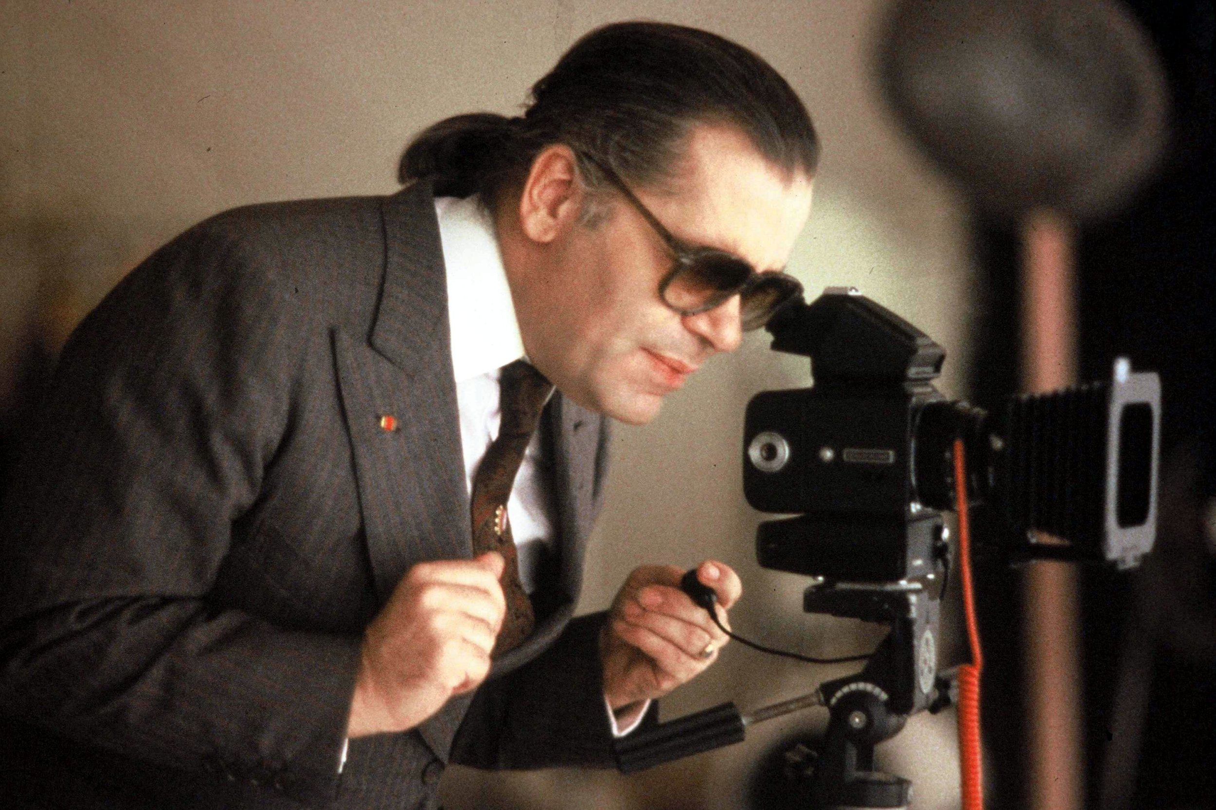 younger karl lagerfeld