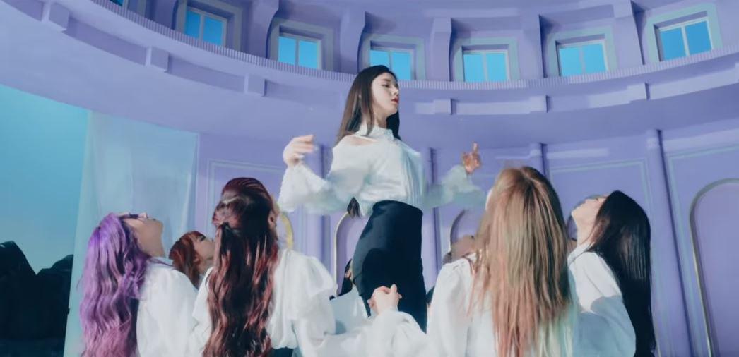 LOONA comeback MV Credit: Blockberry Creative
