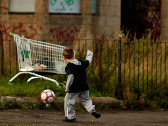 Child poverty set to hit record levels over next few years (Picture: Getty)