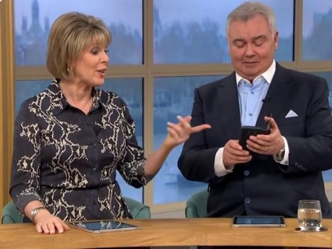 Eamonn Holmes brings This Morning to a halt as Manchester United ring mid-show