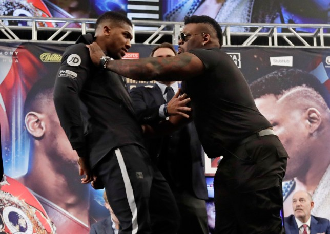 Jarrell 'Big Baby' Miller explains why he shoved Anthony Joshua during press conference