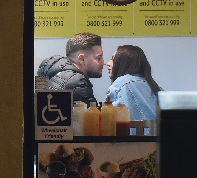 EXCLUSIVE ALL ROUNDER ***MINIMUM FEE ??500 PER PICTURE APPLIES***NO WEB USAGE WITHOUT PRIOR AGREEMENT*** Jesy Nelson and Chris Hughes are seen together for the first time, on a romantic date in South East London. The pair seemed to confirm a relationship, by kissing and holding hands throughout the intimate evening. They began their night at The Cauldron cocktail bar, in Elephant and Castle, posting videos of themselves on their own Instagram accounts, making cocktails, but being careful not to show each other. The Little Mix singer then left the venue holding hands with her Love Island beau, and made the short walk to the bargain basement Ivory Arch fast food joint, where they stayed for around 30 minutes. Despite the pair of them having plenty of money, the venue did not appear to sell many items costing more than ??10. The greasy food on offer included pizzas, burgers, fried chicken and other unhealthy options. The pair were seen kissing in the window, and Chris leant his head on Jesy's shoulder for a while. They appeared very much in love. The couple have managed to keep the new relationship completely quiet until tonight, but their IG posts caused fans to comment as to whether the two were now an item. The answer is now pretty conclusive! 16 January 2019. Please byline: Will/Mark/Vantagenews.com