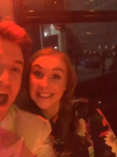 METRO GRAB INSTA Greg James takes dumped teacher to Brits in ultimate A-list revenge to her ex Radio 1 presenter Greg James promised to take teacher Katie to the BRITs 2019 after she was dumped by her boyfriend - and they had the best night ever https://www.instagram.com/greg_james/