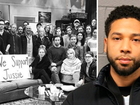 Big Bang Theory's Kaley Cuoco removes 'We Stand With Jussie Smollett' picture after attack hoax claims