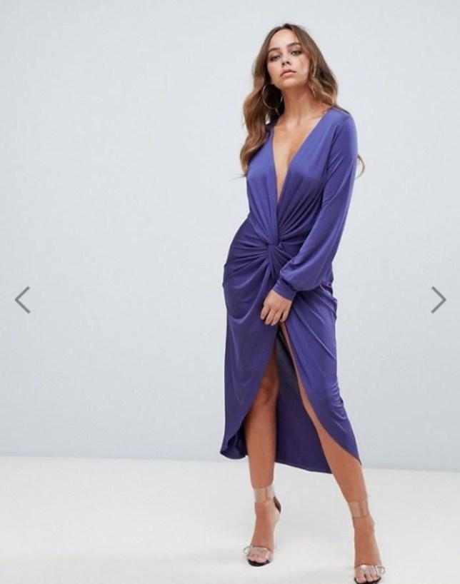 49279427ad Woman orders Boohoo dress online