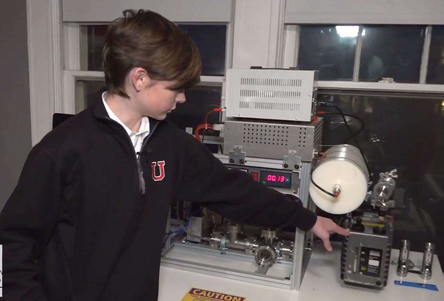 Picture: Fox News Boy creates nuclear reactor in his bedroom