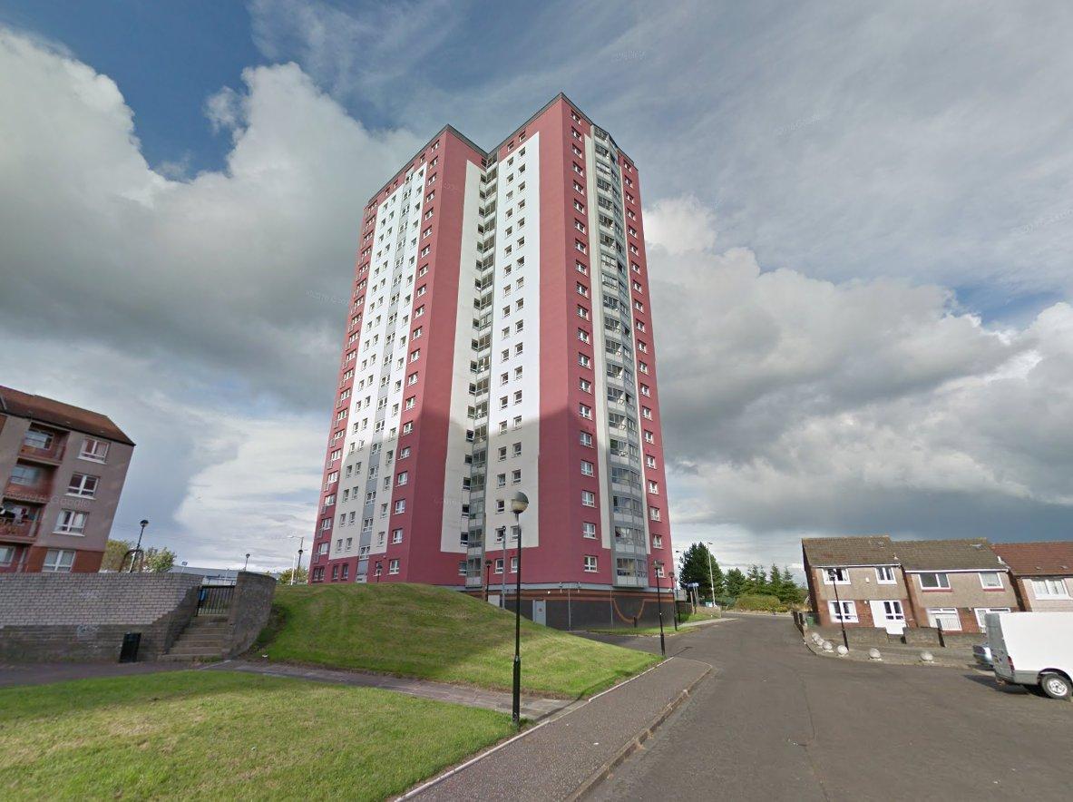 Alem Shimeni Glasgow woman fell from flat Glasgow?s Royston