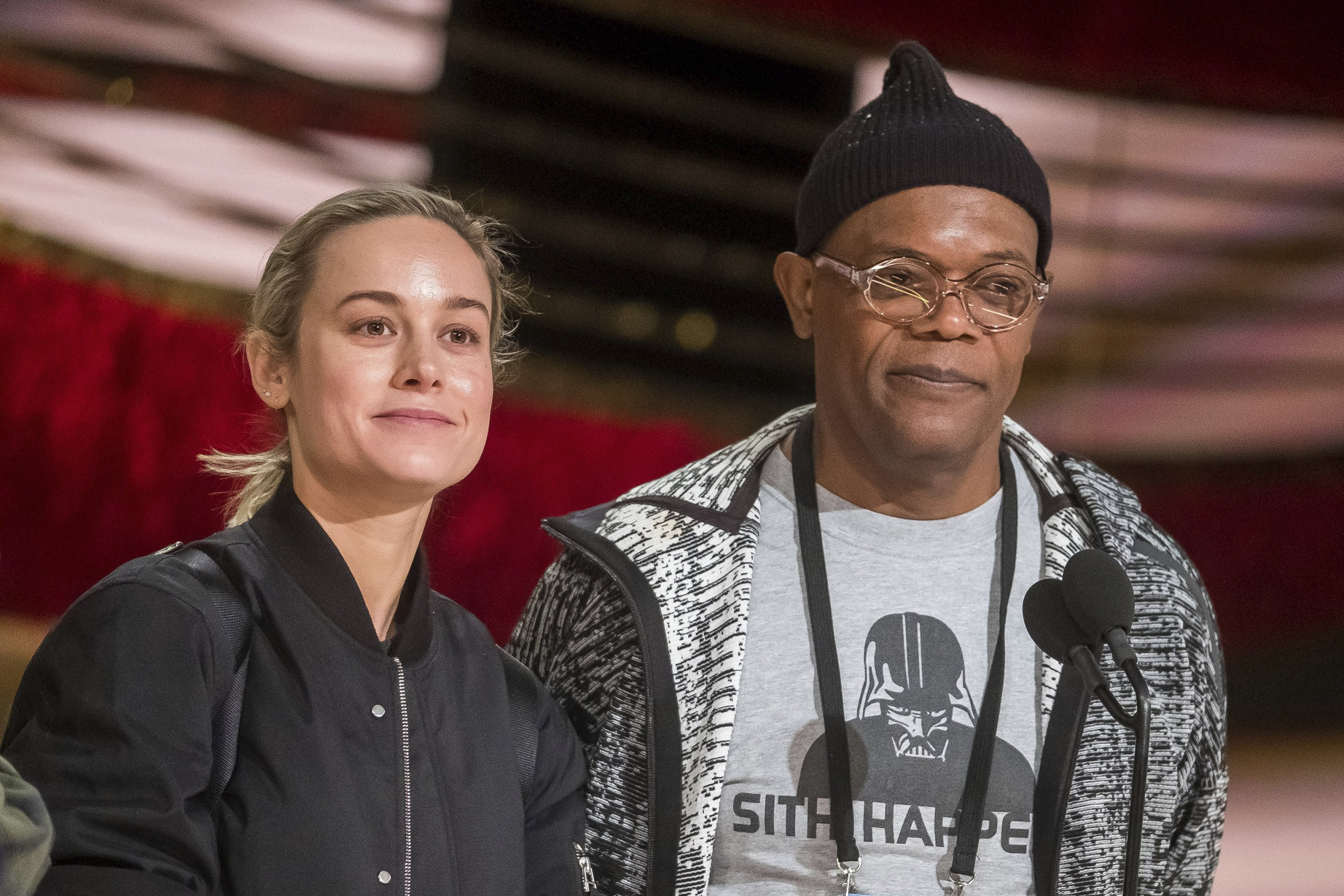 Brie Larson reunites with Captain Marvel's Samuel L Jackson in Netflix movie Unicorn Store (which she's directing)