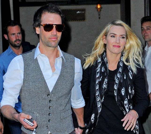 Kate Winslet's husband Ned Rocknroll reversing surname ...
